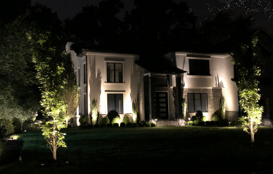 Charming Landscape Lighting Design